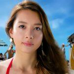 モンストCM(XFLAG2017)ナツの極み地引網篇の水着美女モデルは誰?