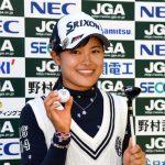 小倉彩愛(女子高生ゴルファー)がかわいい!経歴や高校についても